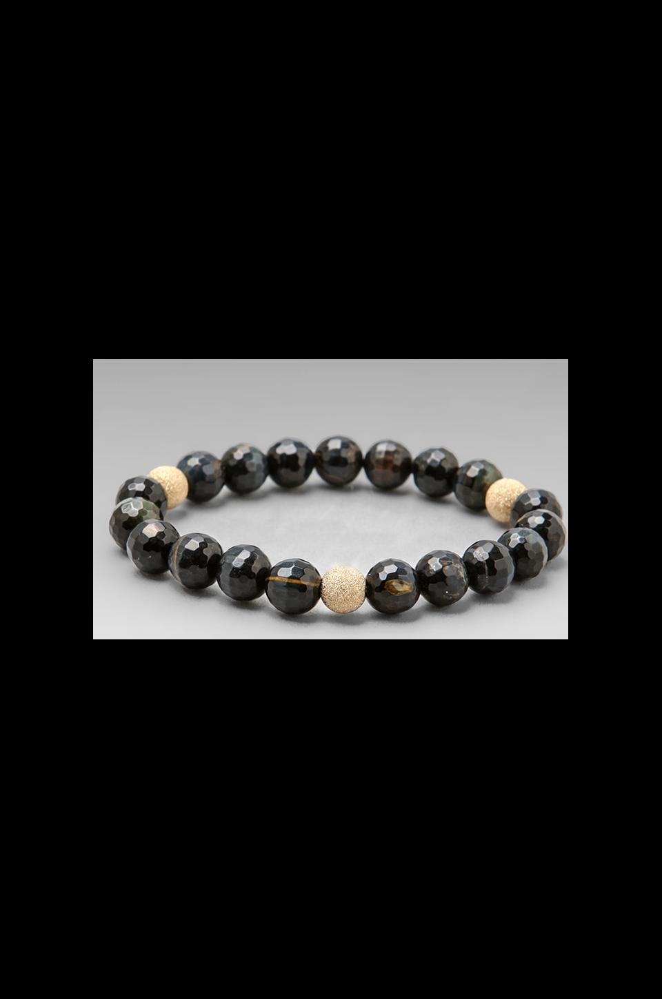 JNB DEPRECATED JNB Blue Tigers Eye in Black