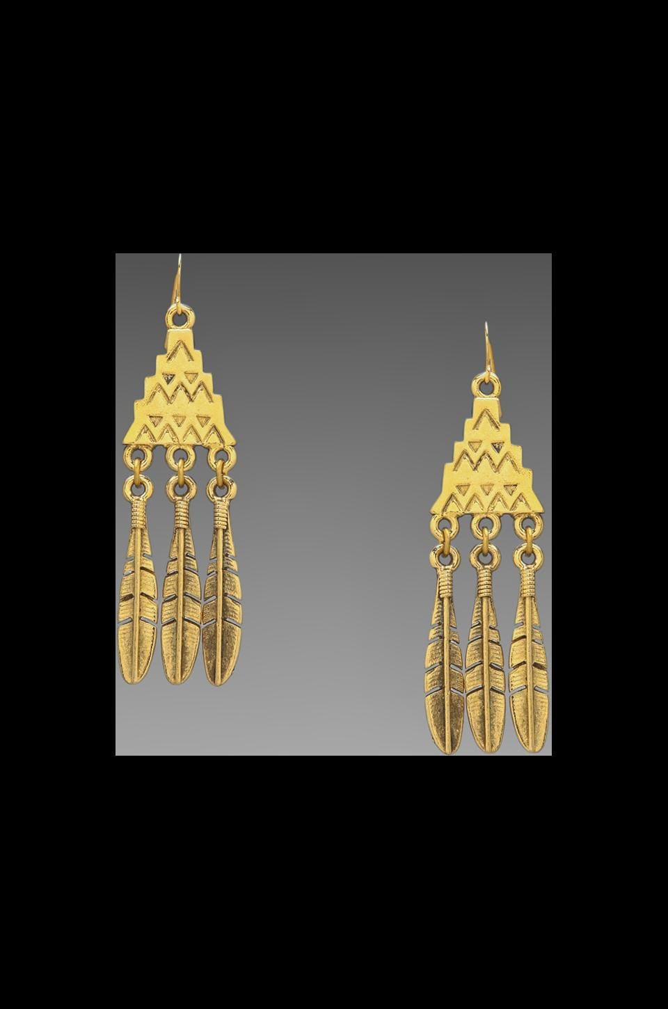 Vanessa Mooney DEPRECATED Vanessa Mooney Afar From This World Earring in Gold