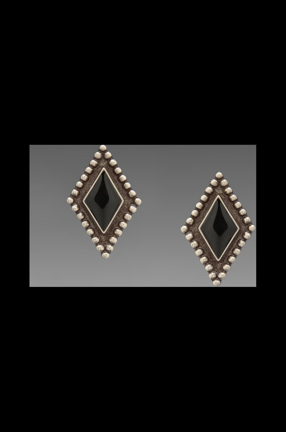 Vanessa Mooney DEPRECATED Vanessa Mooney Capulet Earring in Sliver/Black