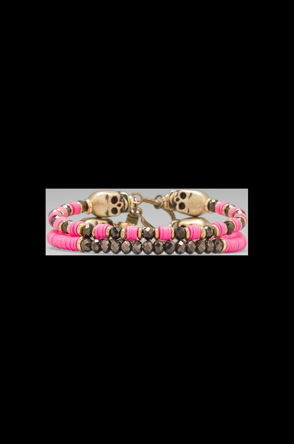 Vanessa Mooney DEPRECATED Vanessa Mooney Cult Classic Bracelets in Hot Pink