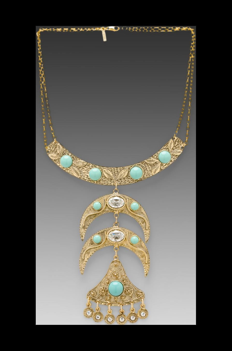 Vanessa Mooney DEPRECATED <DEPRECATED> Vanessa Mooney Into the Mystic Highway Necklace in Gold