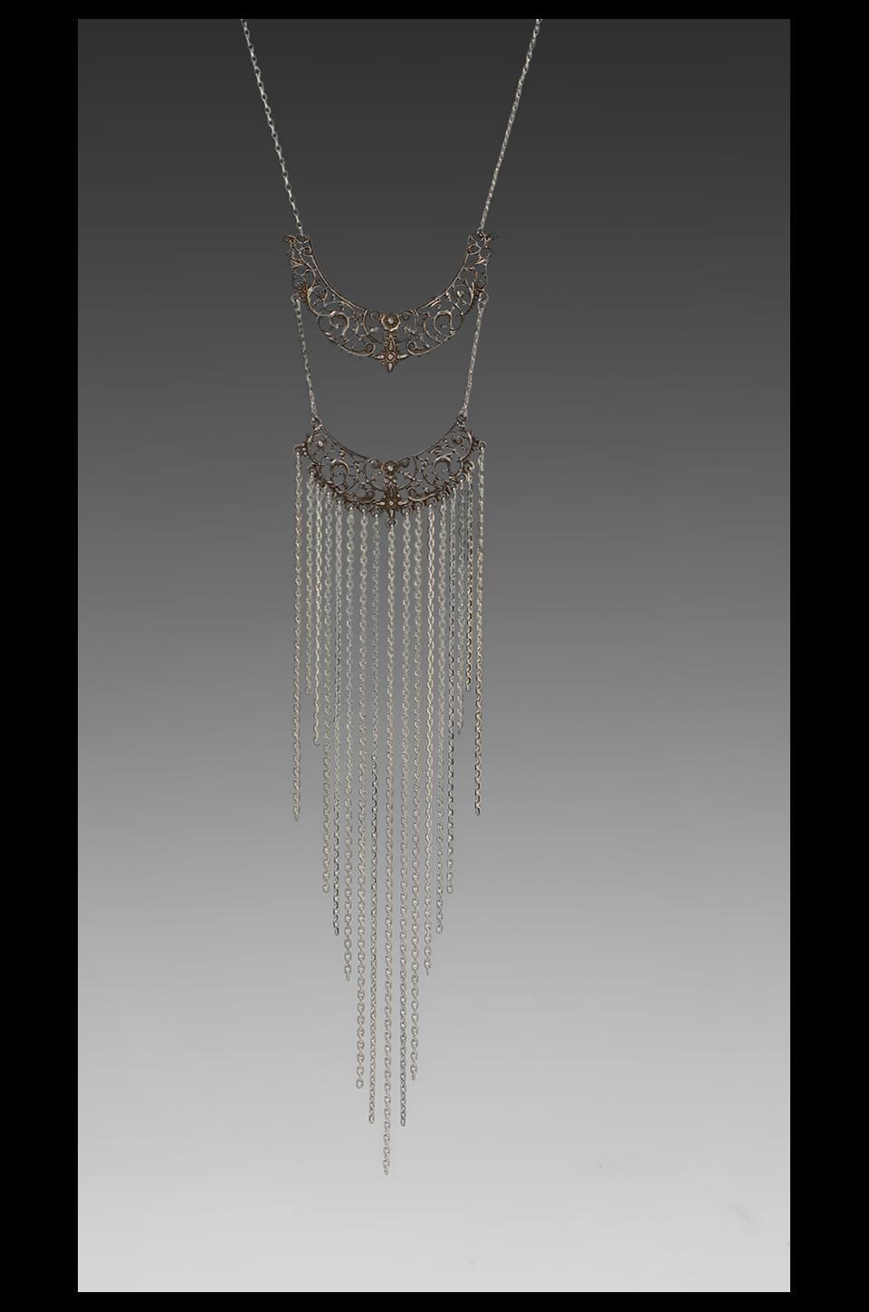 Vanessa Mooney DEPRECATED Vanessa Mooney The Royal We Statement Necklace in Sliver