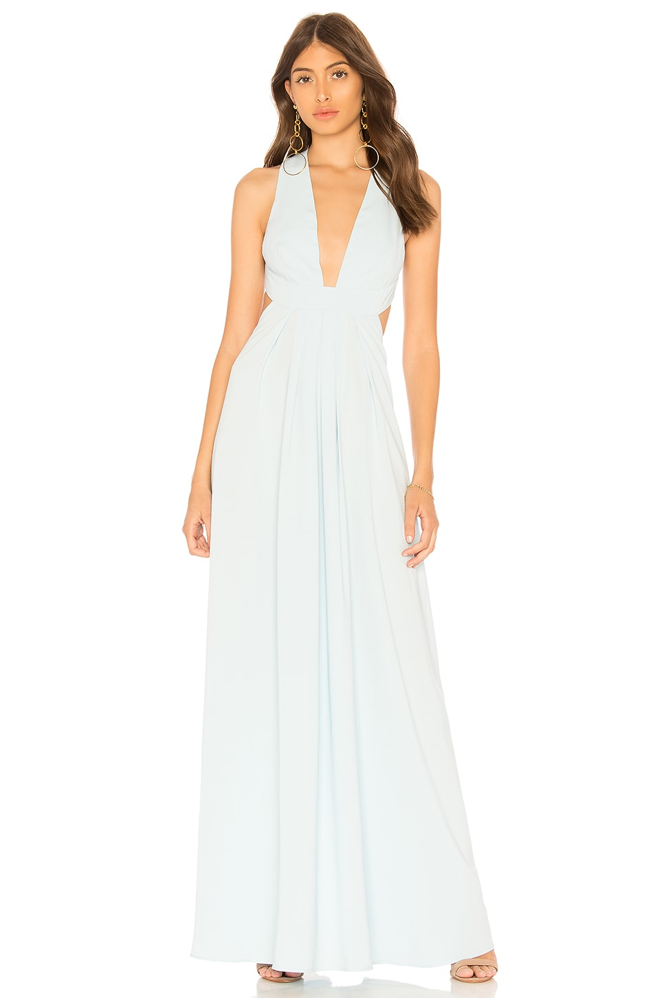JILL BY JILL STUART PLUNGING GOWN