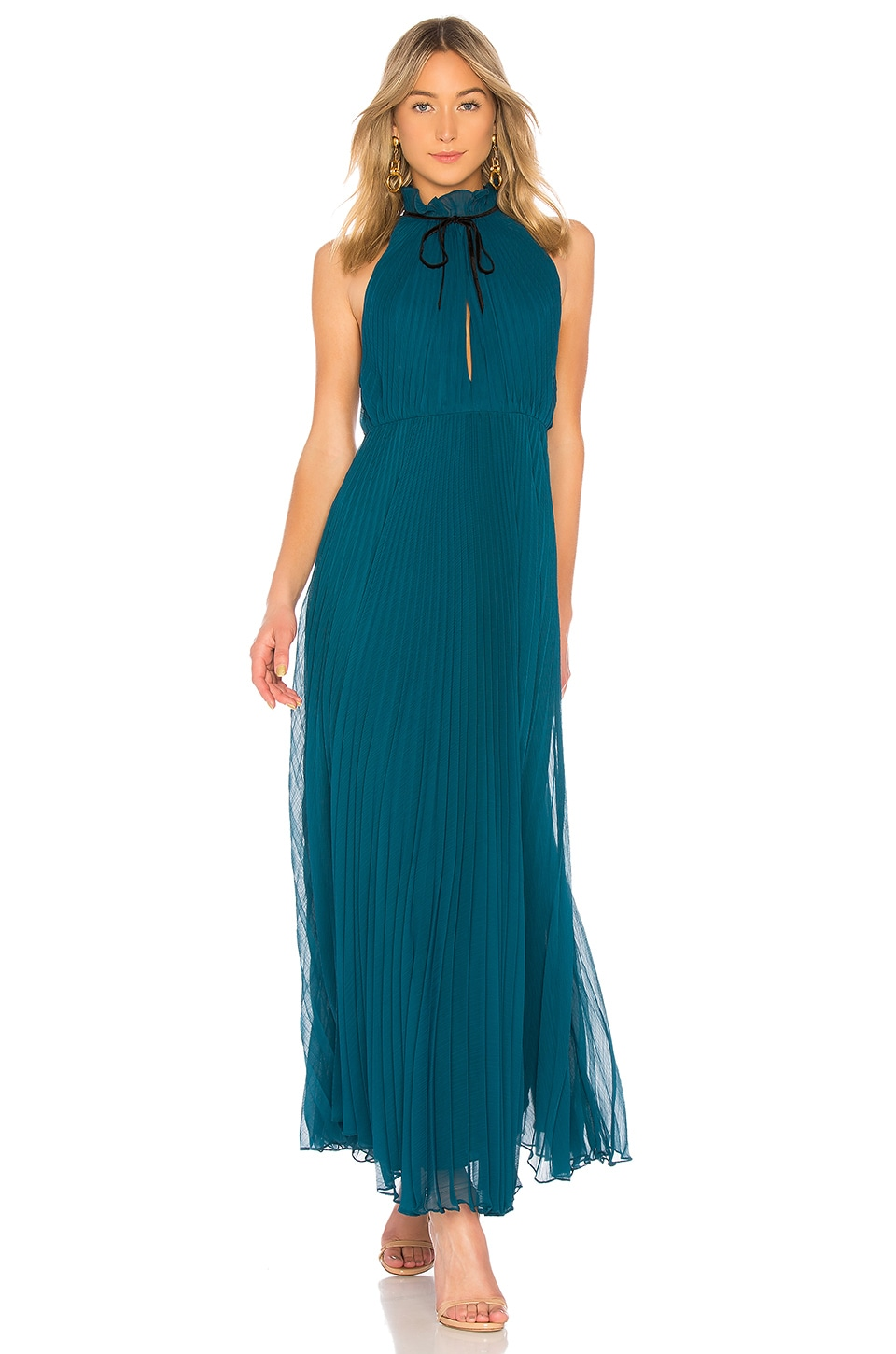 HIGH NECK GOWN