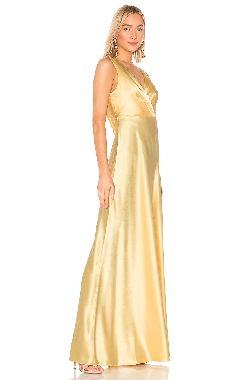 Jill Jill Stuart Accessories Front Gathered Gown