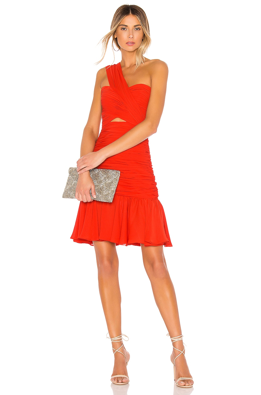 JILL JILL STUART One Shoulder Mini Dress in Sunset