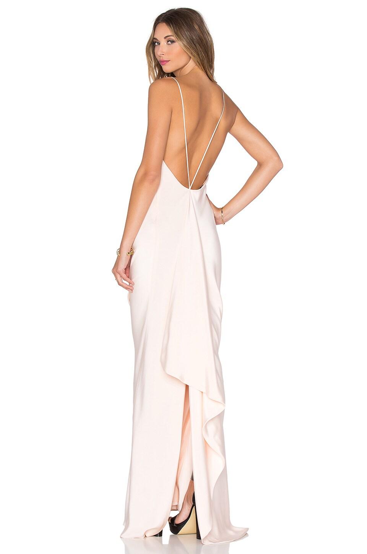 Drape Back Gown by JILL JILL STUART