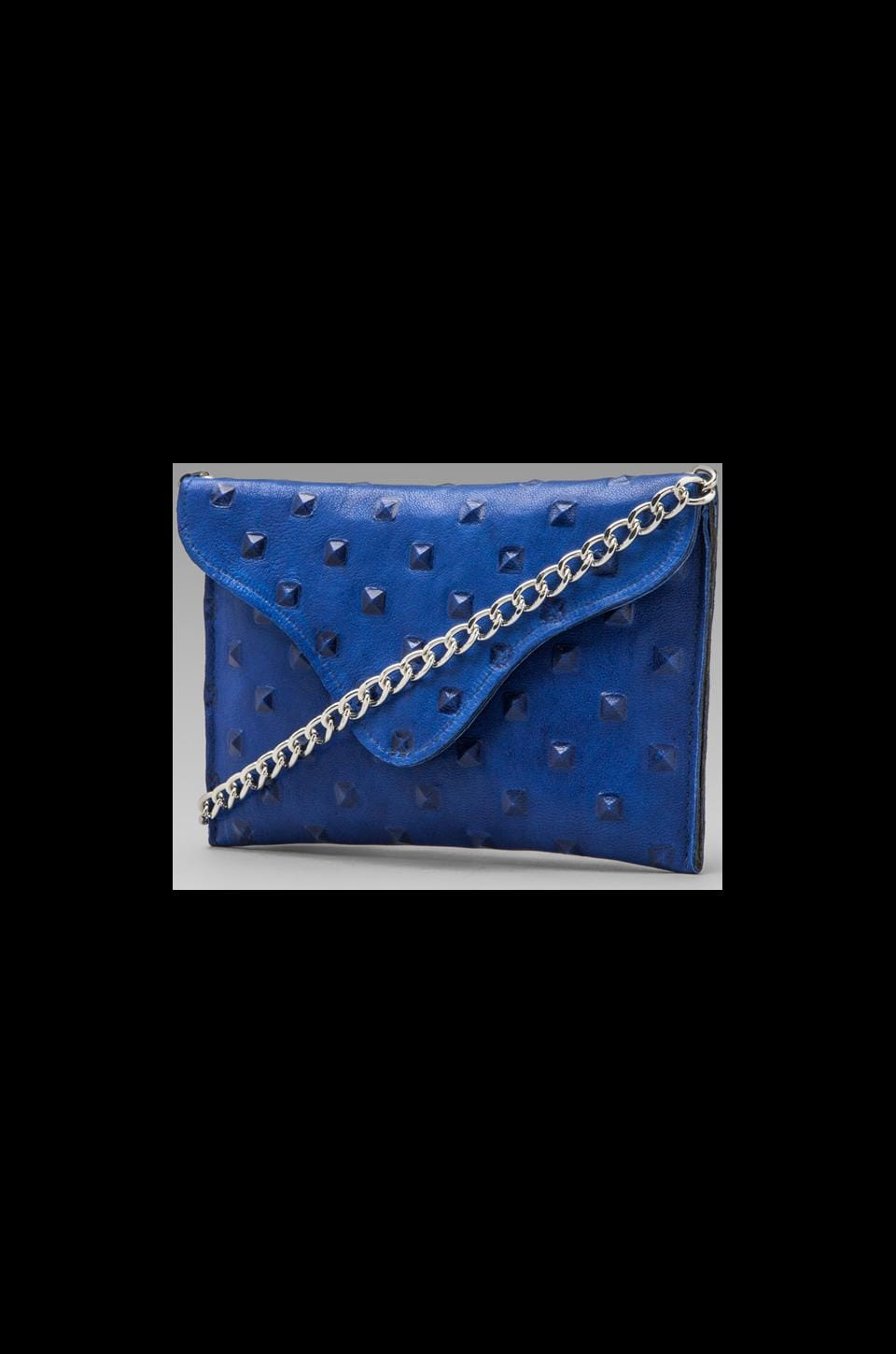 JJ Winters Pyramid Bag in Electric Blue