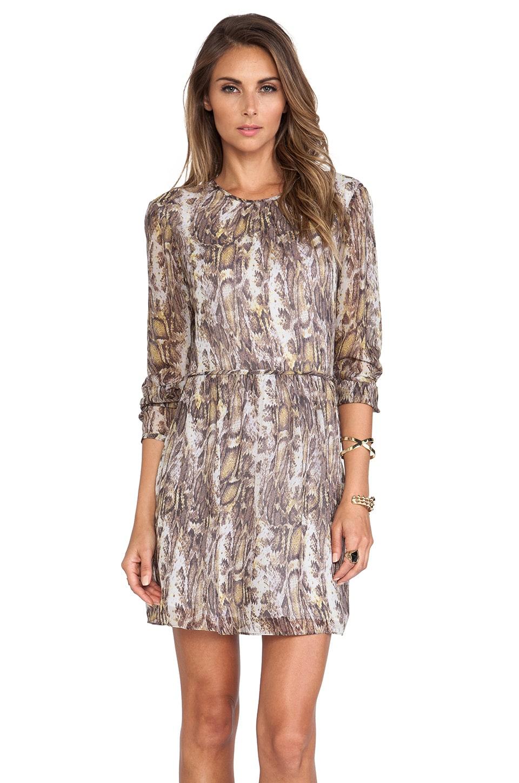 Jenni Kayne Long Sleeve Dress in Grey Multi