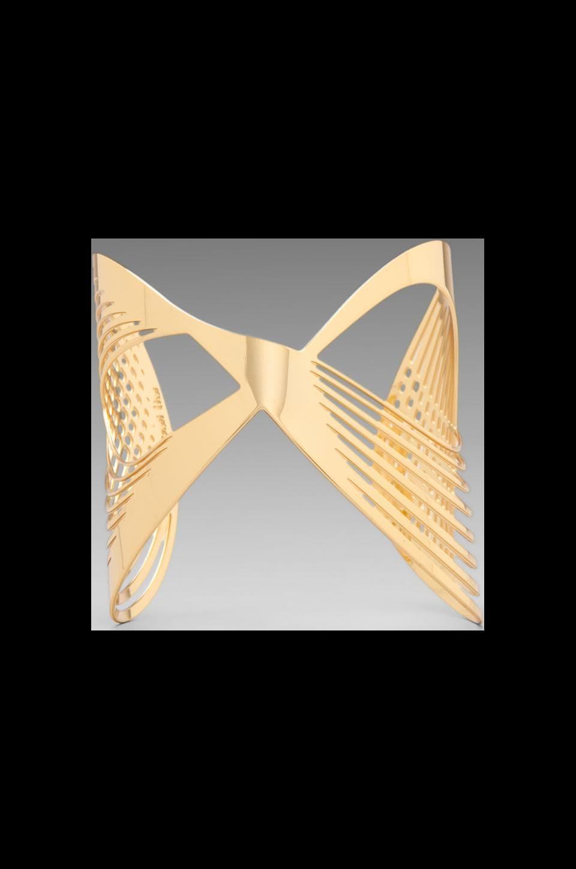 JOOMI LIM Infinity Cuff in Gold