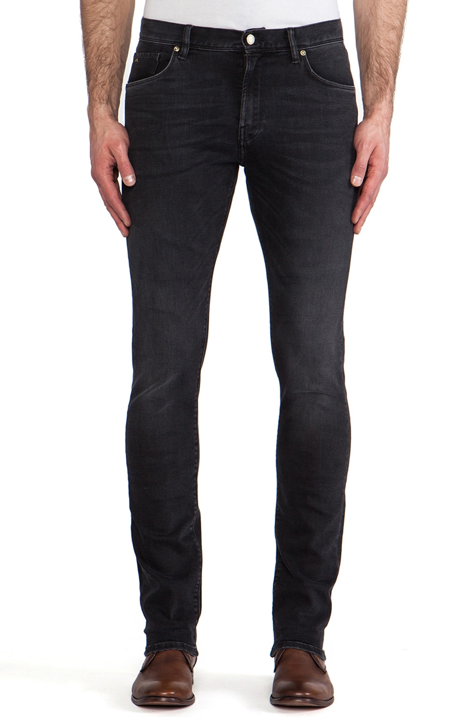 J. Lindeberg Damien Washed Stretch in Black