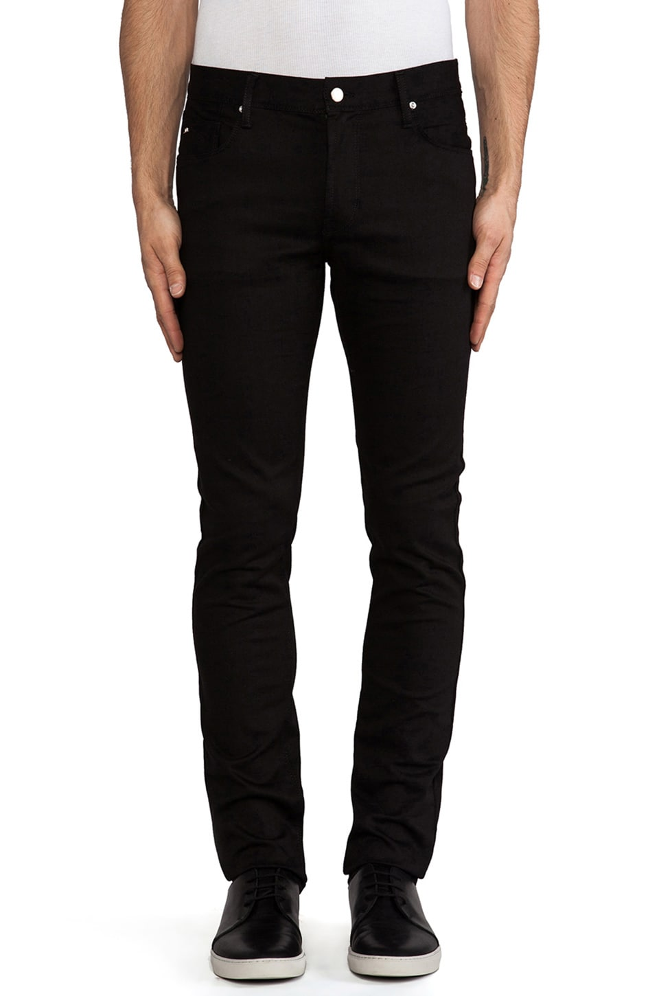 J. Lindeberg Damien Stretch Denim in Black