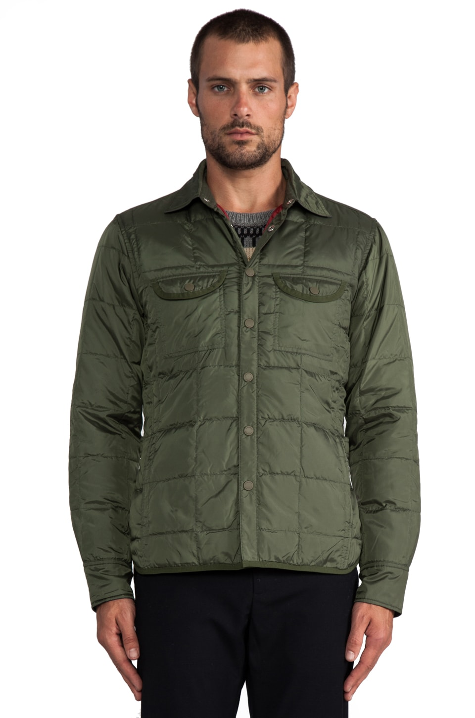 J. Lindeberg Lawler Pack Poly in Dark Green
