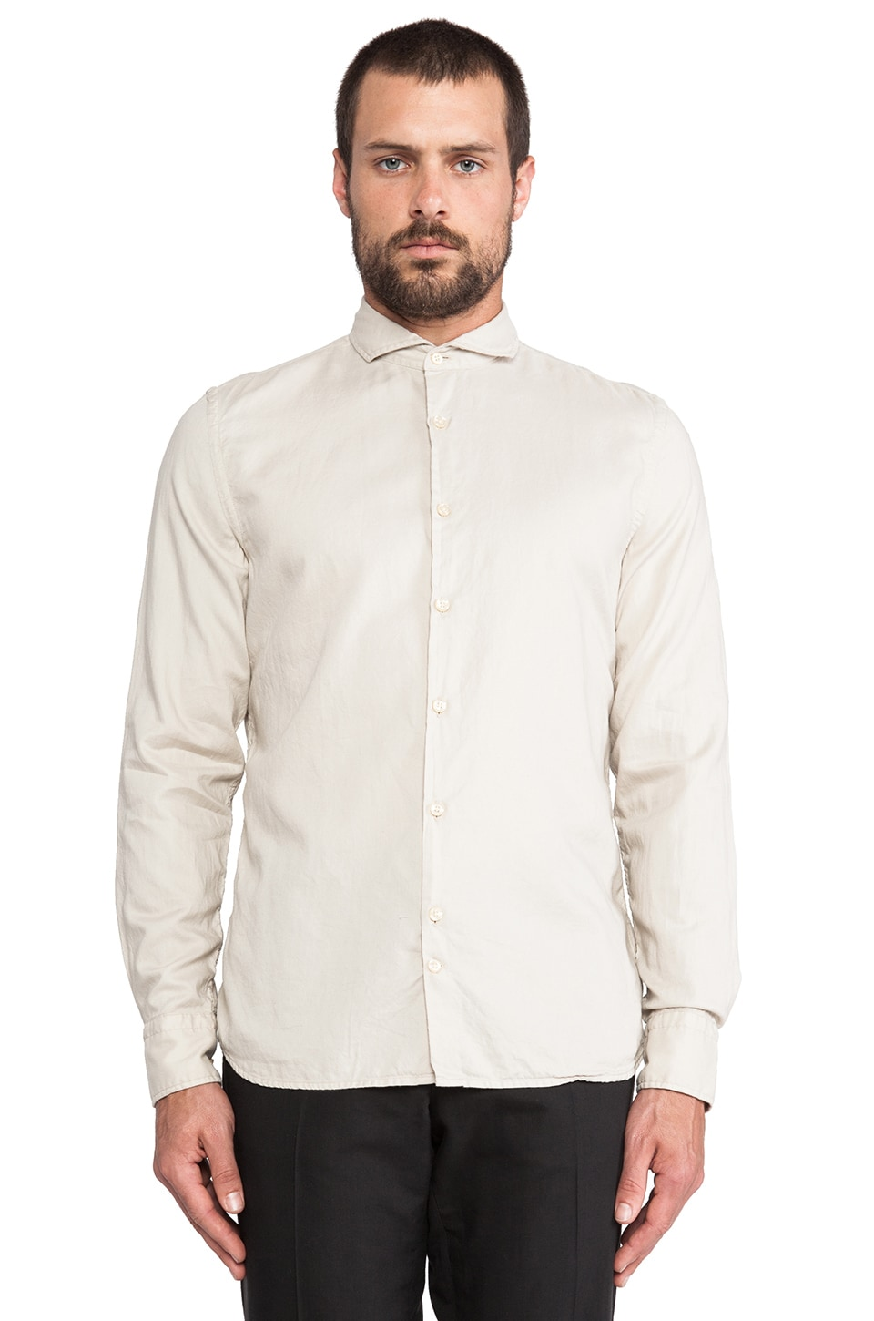 J. Lindeberg Dani 43 S-Cut Shirt in Linen