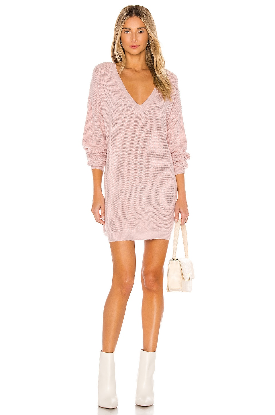 John & Jenn by Line X REVOLVE Berto Sweater Dress in Blush