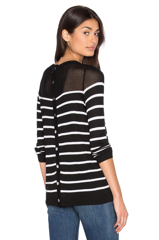 Calida Stripe Sweater by John & Jenn by Line