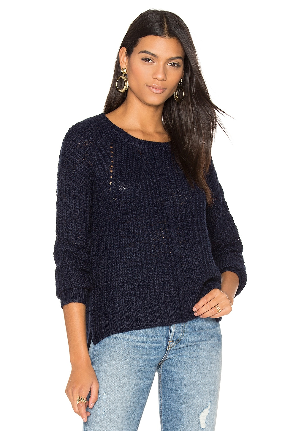 Cheryl Crew Neck Sweater by John & Jenn by Line