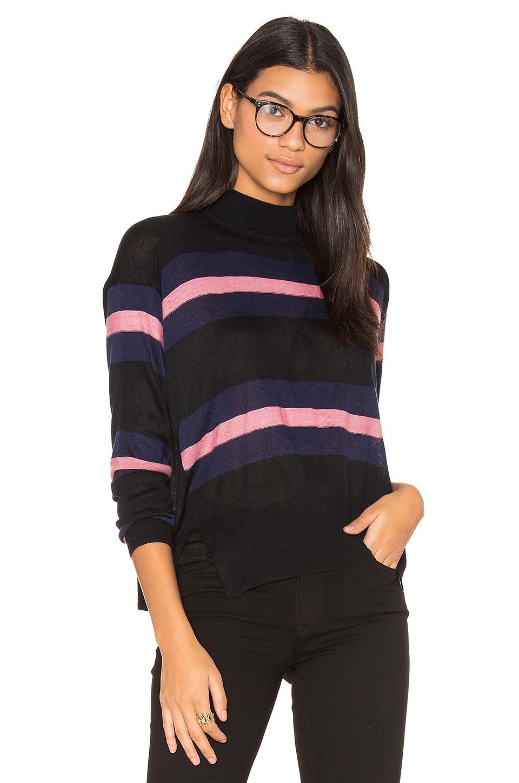 Clo Stripe Sweater by John & Jenn by Line
