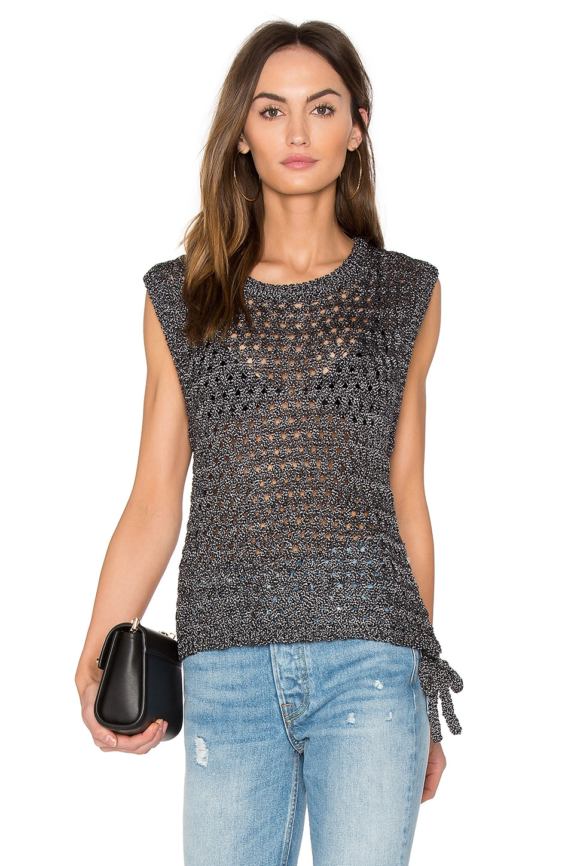Meg Sleeveless Sweater by John & Jenn By Line