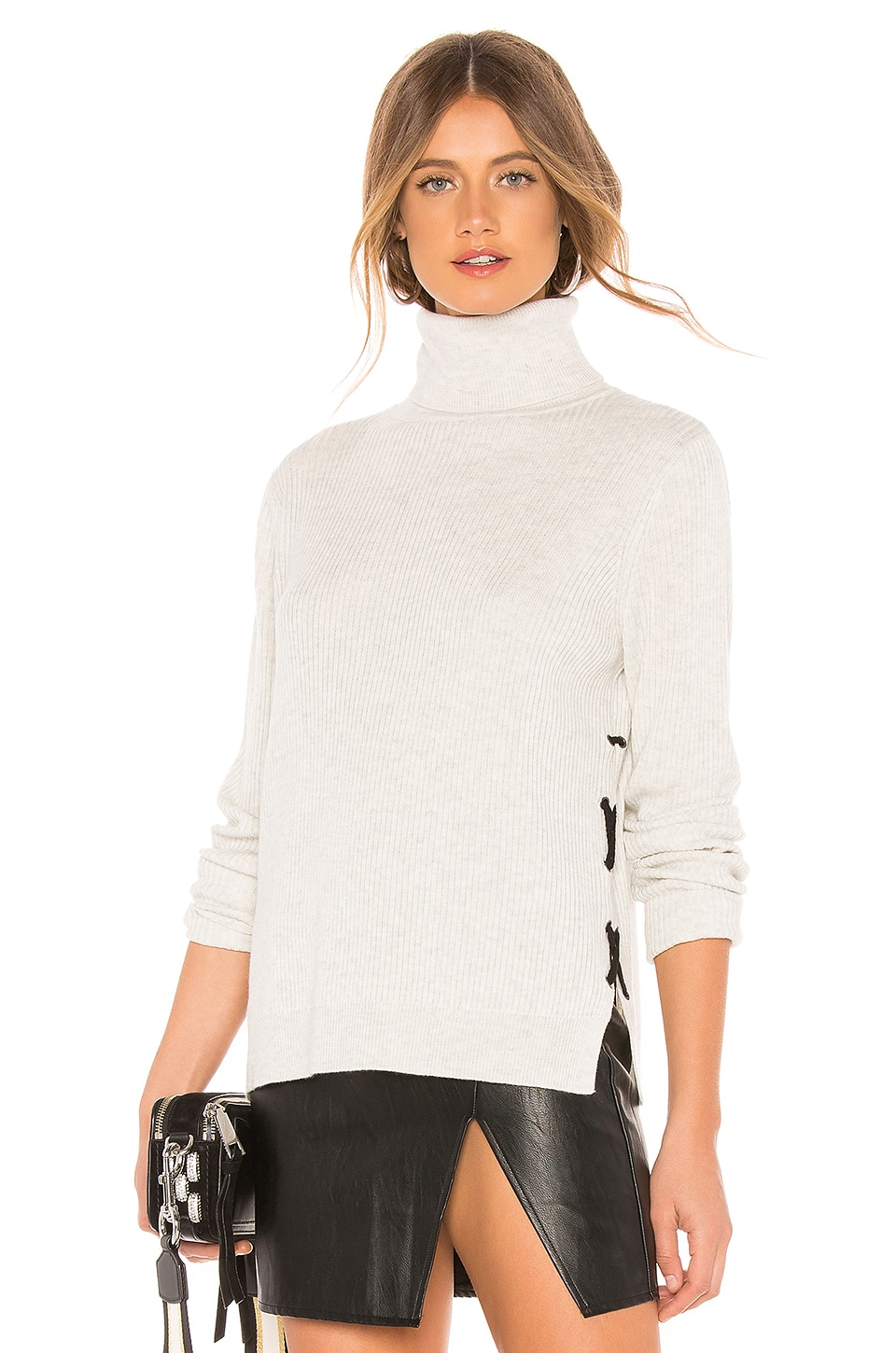 JOHN & JENN BY LINE Max Sweater in Light Gray