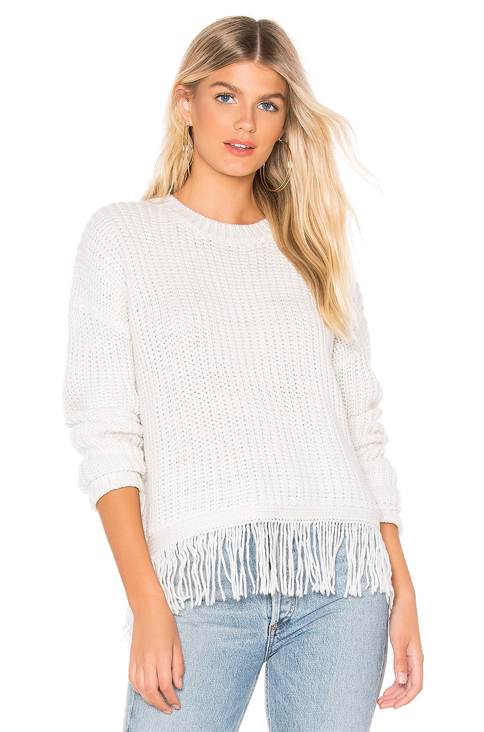 JOHN & JENN BY LINE Troy Sweater in Cream