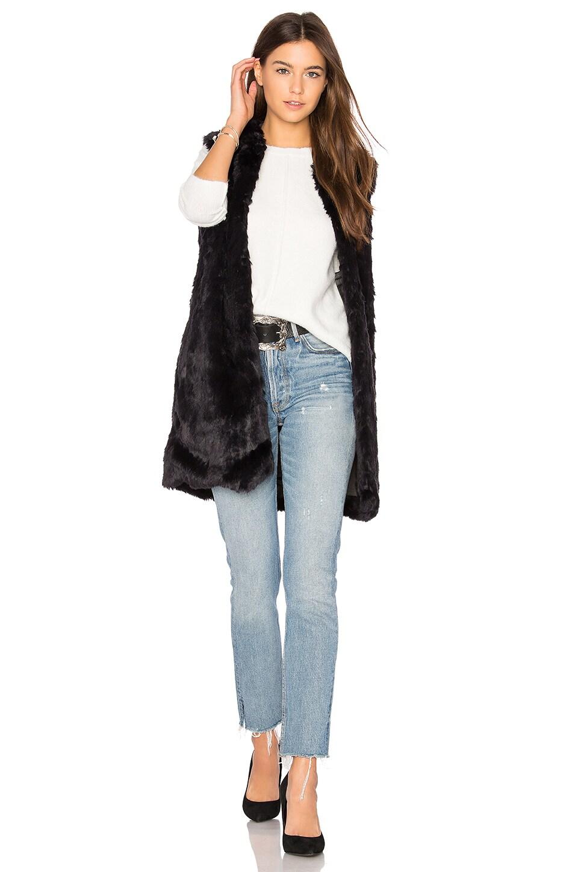 Laurent Faux Fur Vest by John & Jenn by Line
