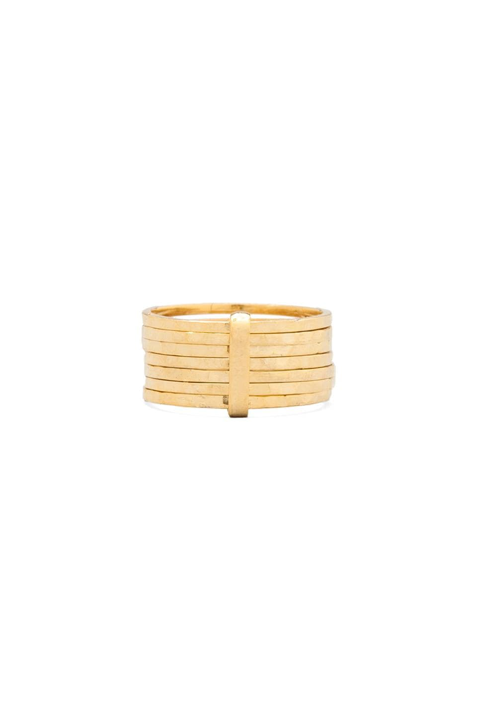 JNB Olivia Stack Ring in Gold