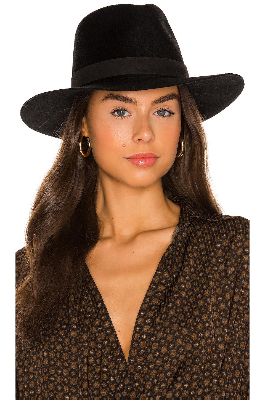 Janessa Leone Luca Hat in Black