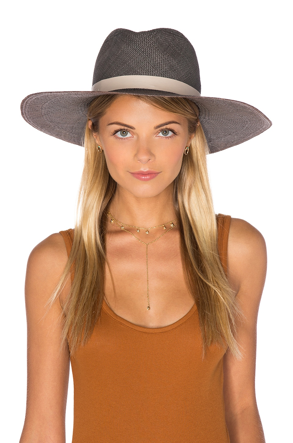 Dahlia Wide Brimmed Panama Hat at REVOLVE