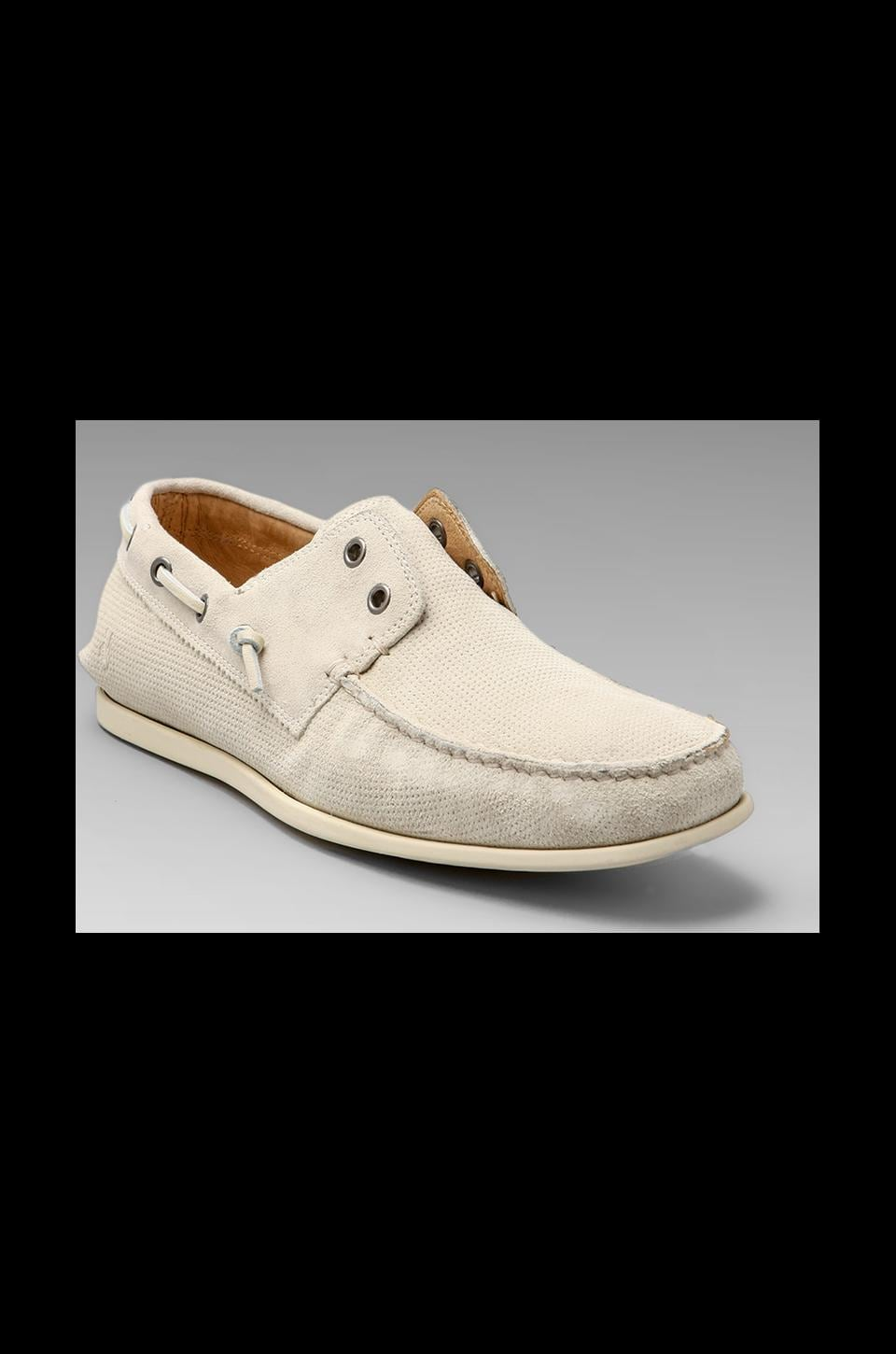 John Varvatos Star USA Schooner Boat Shoe in Birch