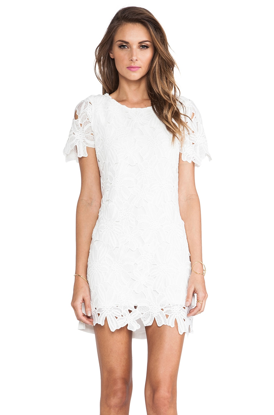 Joa flower lace dress in white revolve joa flower lace dress in white mightylinksfo