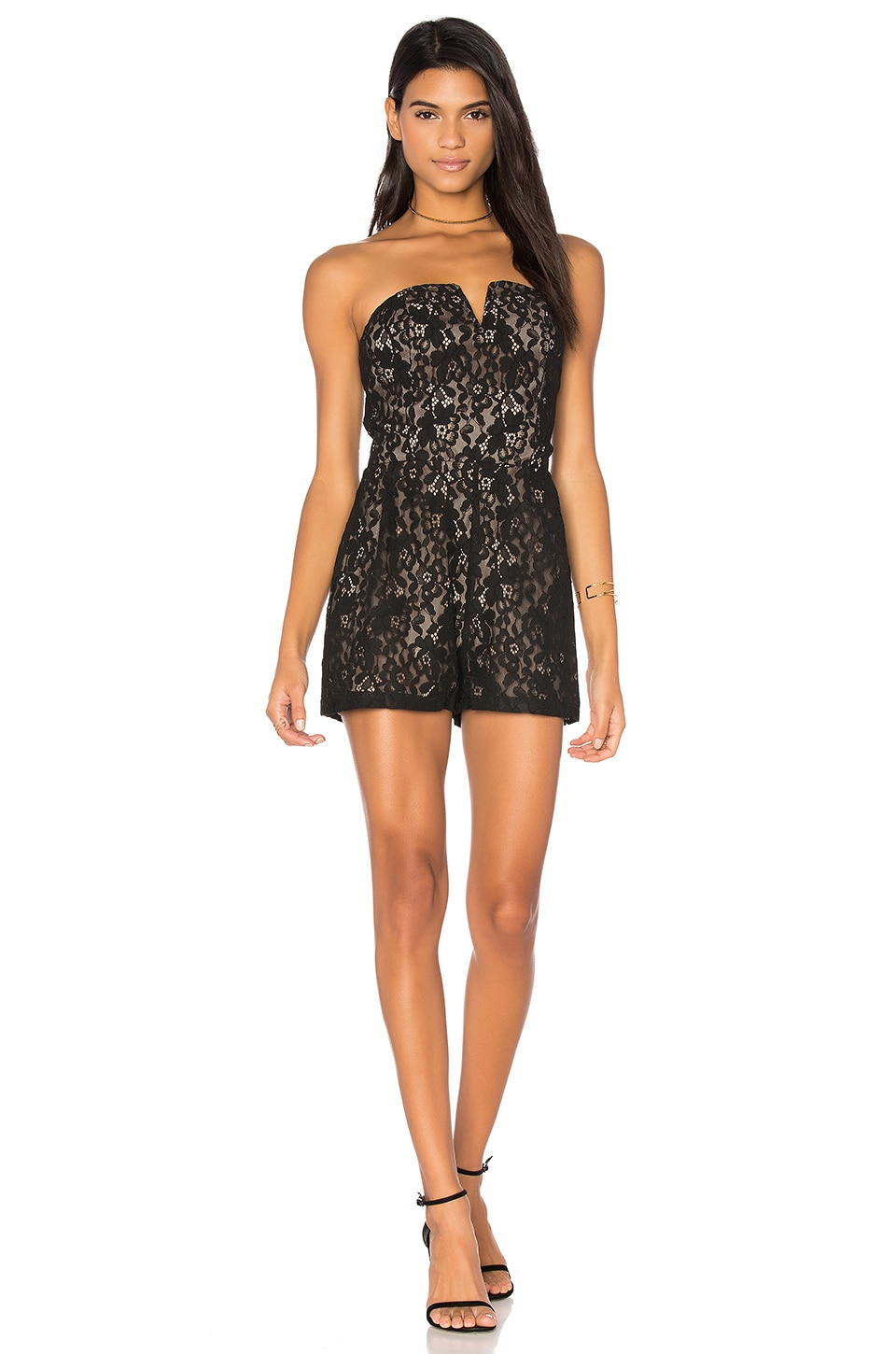 Strapless Romper by J.O.A.