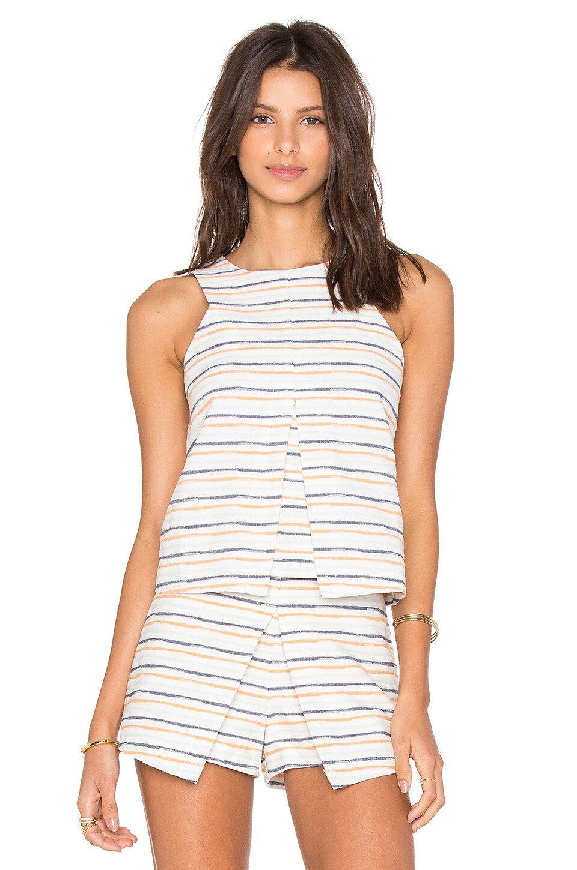 Sleeveless Stripe Top by J.O.A.