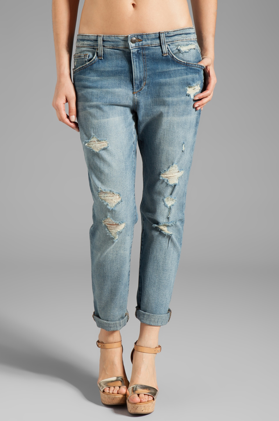 Joe's Jeans Slouchy High Water in Nyore