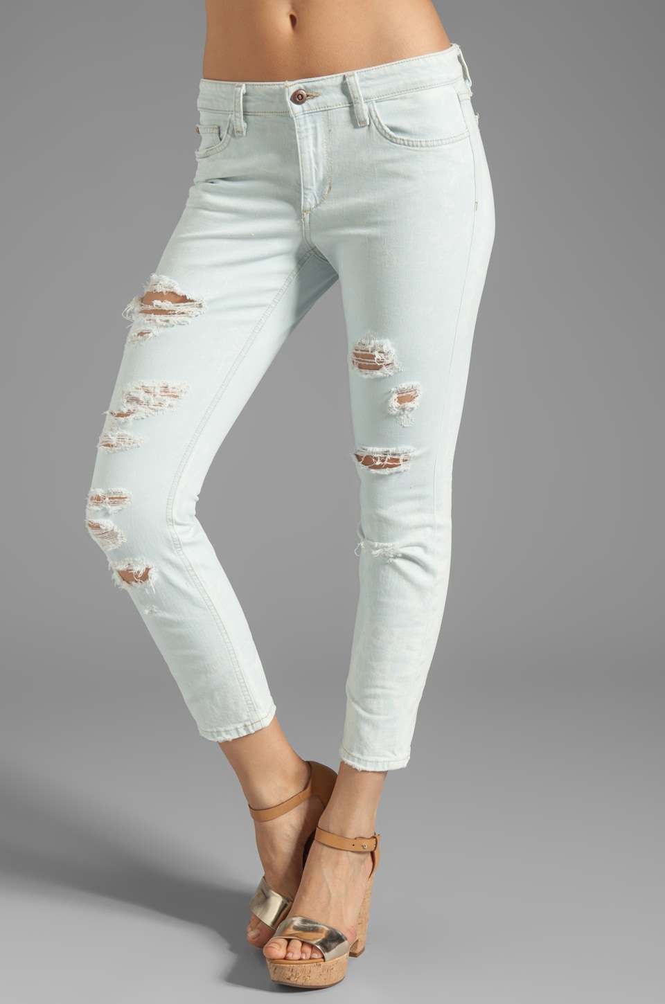 Joe's Jeans The Nessa High Water in Light Blue