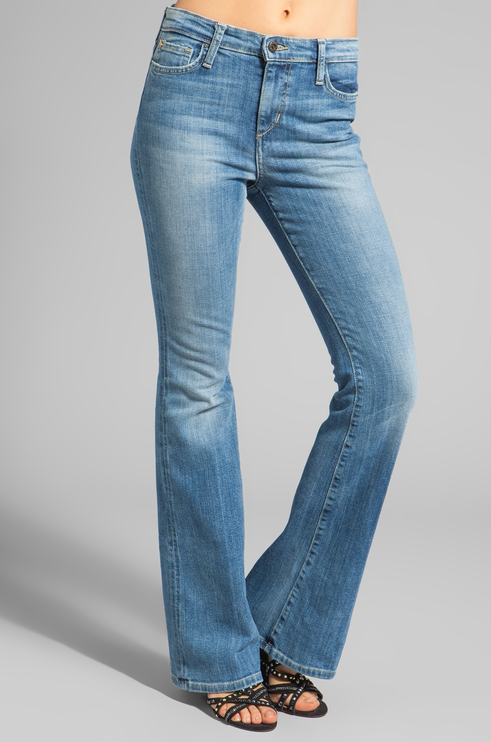 Joe's Jeans High Rise Flare in Jaide