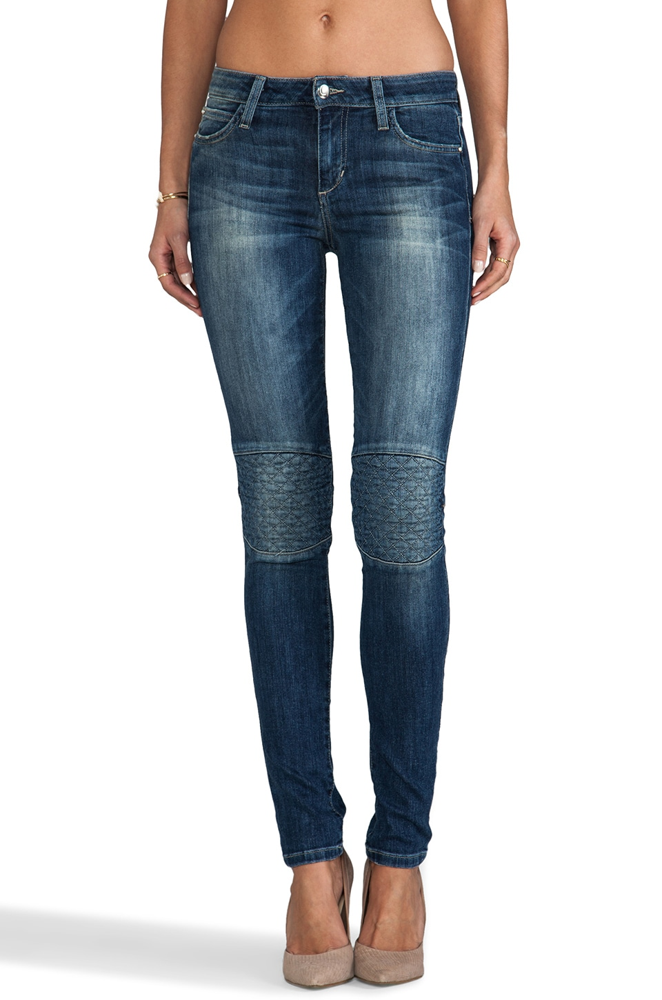 Joe's Jeans Quilted Street Skinny in Laurel