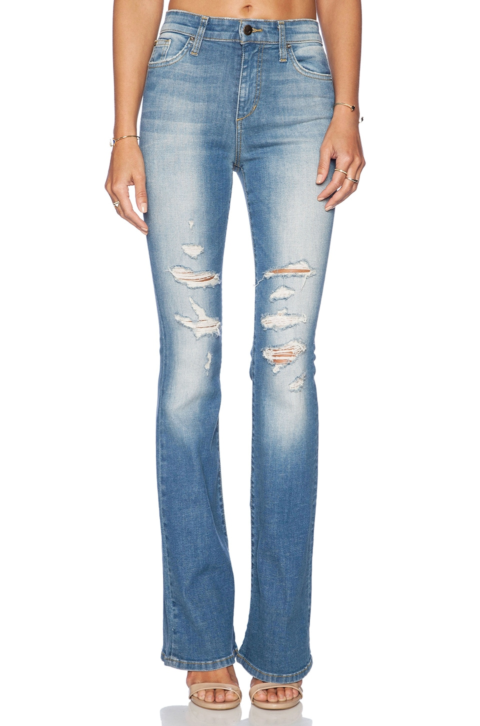 Joe's Jeans High Rise Flare in Gretchen | REVOLVE