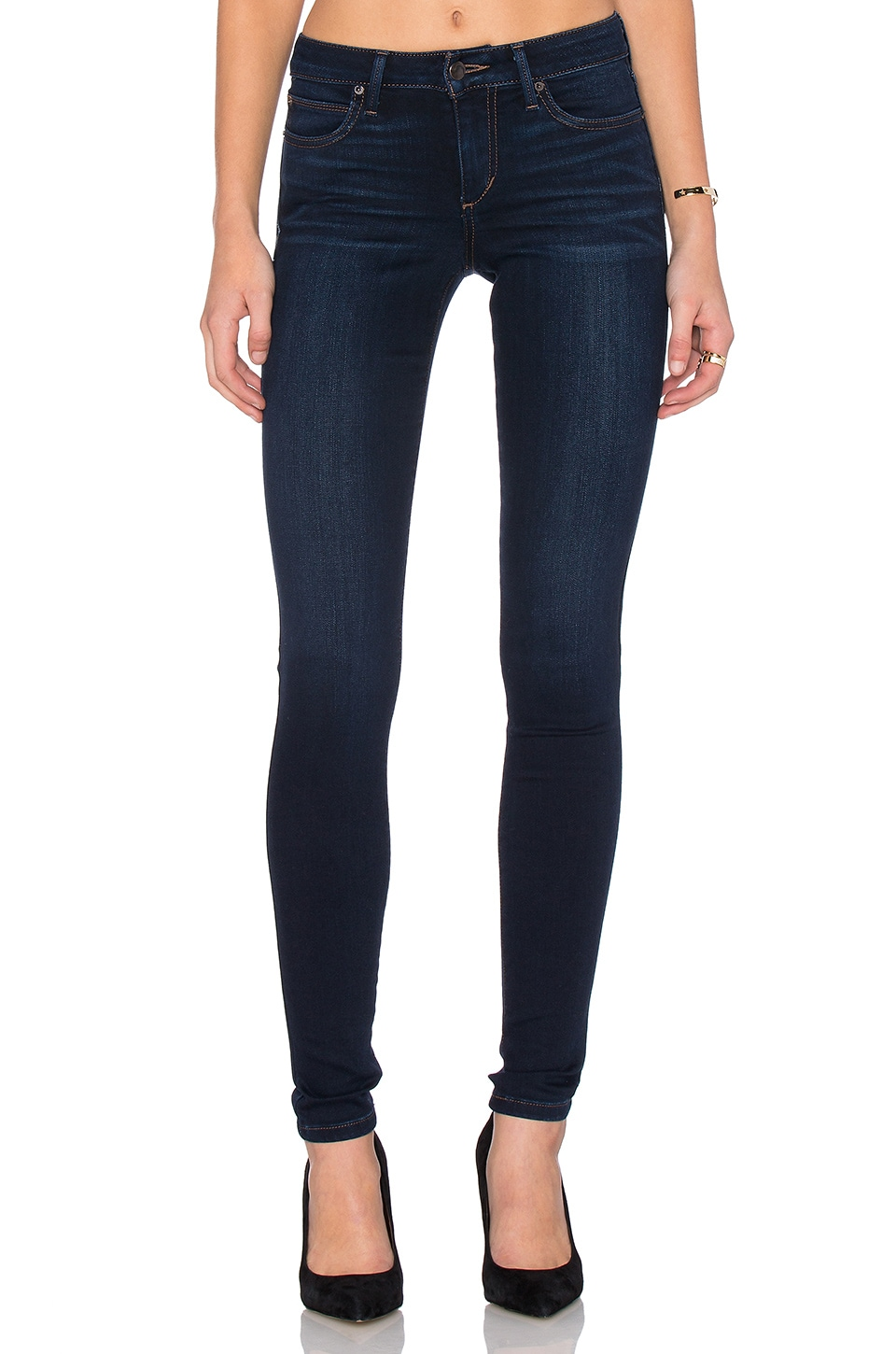 Joe's Jeans Lexi Flawless The Honey Skinny in Medium Blue