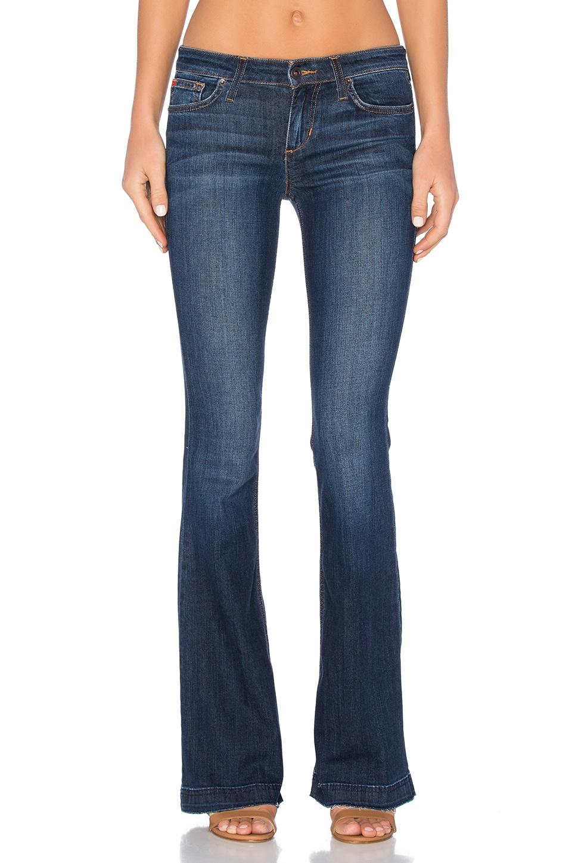 Joe's Jeans Sophia Japanese Denim The Icon Flare in Light Medium ...
