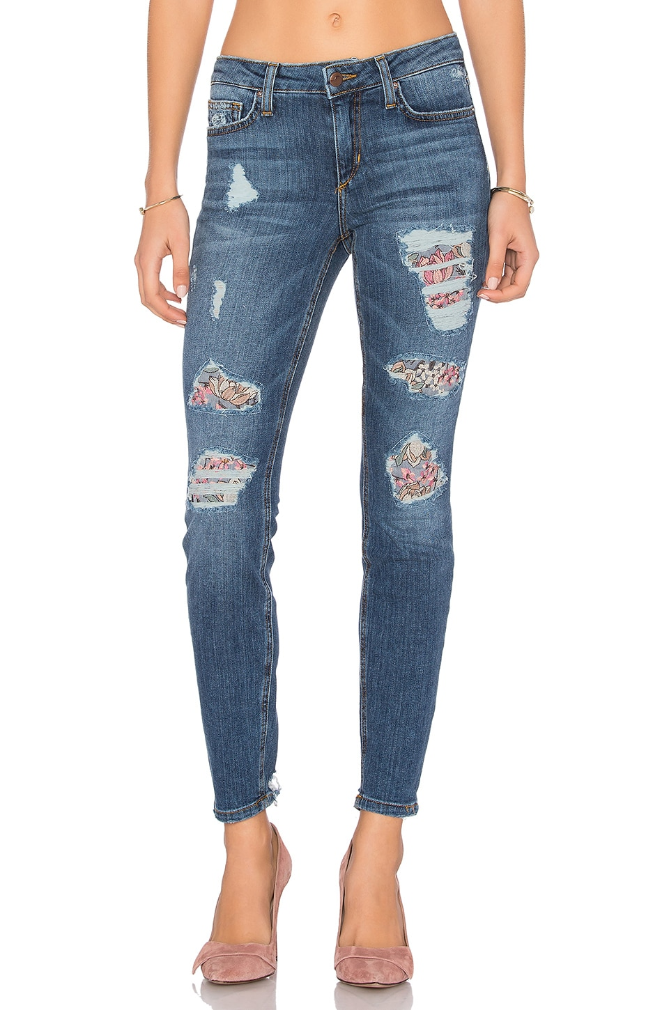 Joe's Jeans The Icon Ankle Skinny in Medium Blue