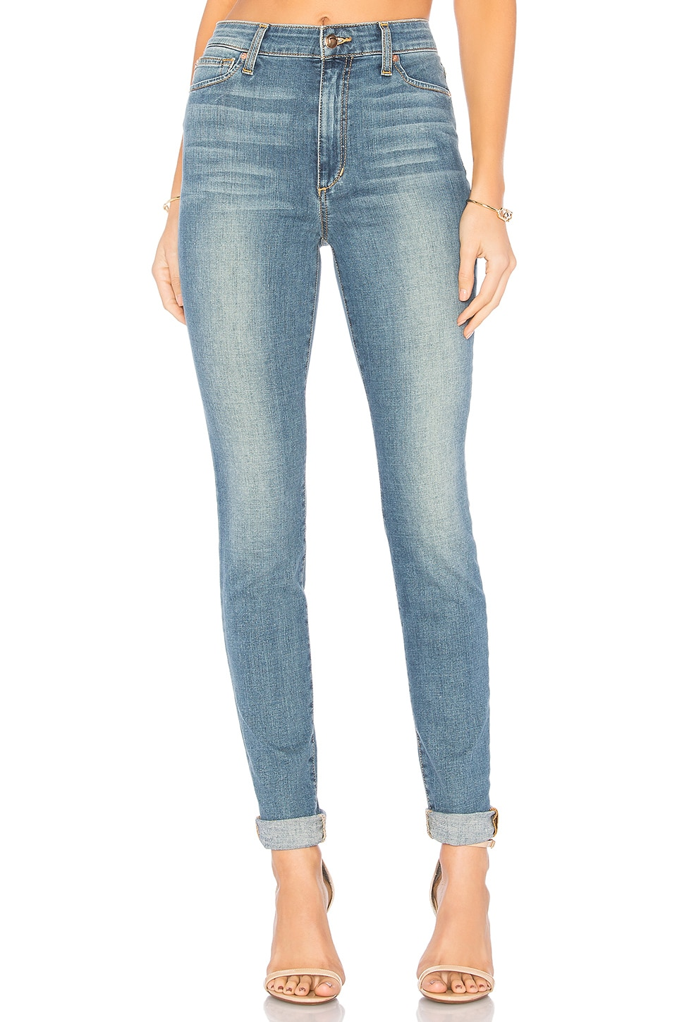 Joe's Jeans FLAWLESS The Charlie High Rise Skinny in Light Blue
