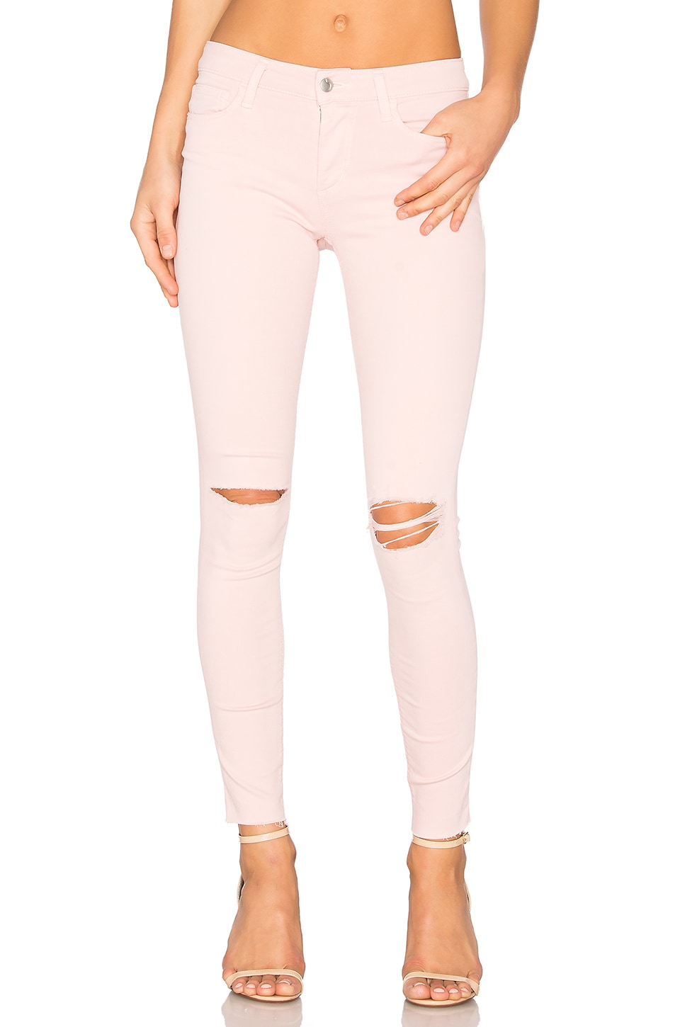 Joe's Jeans The Icon Ankle Skinny in Pink