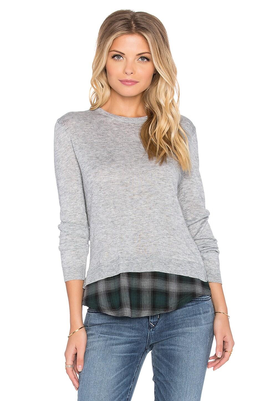 Joe's Jeans Azure Sweater in Heather & Plaid