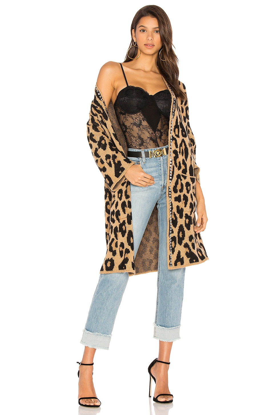Joe's Jeans Lauren Long Cardigan in Leopard | REVOLVE