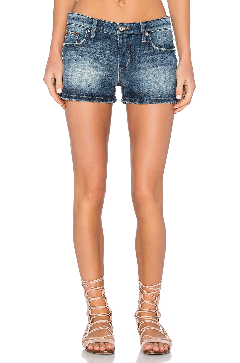 Joe's Jeans Janelle Collector's Edition The Billie Short in Medium Light Blue