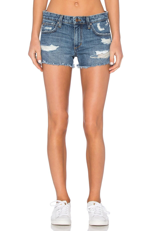 Joe's Jeans Cut Off Short in Medium Blue