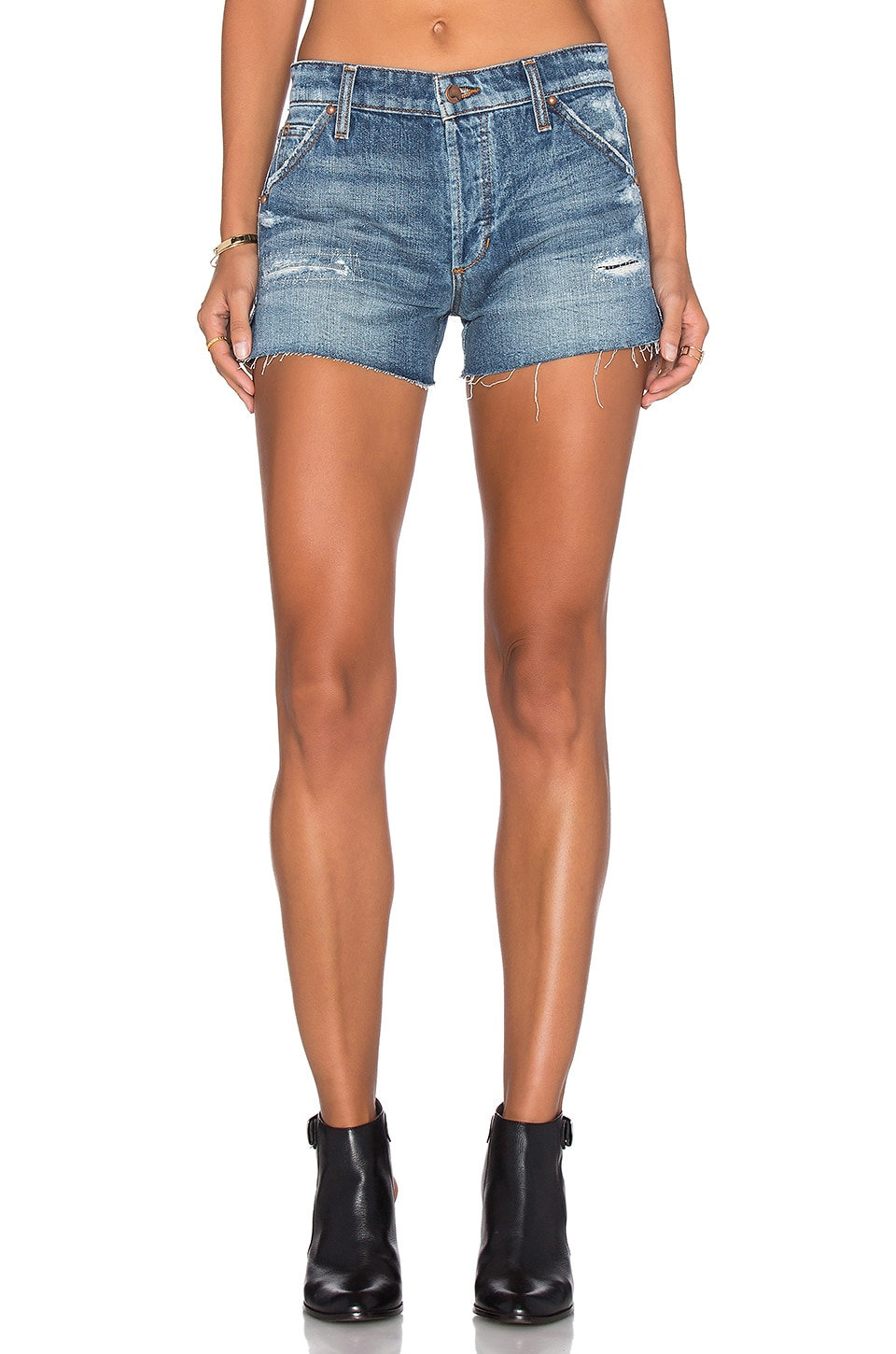 Joe's Jeans Wasteland Short in Medium Blue