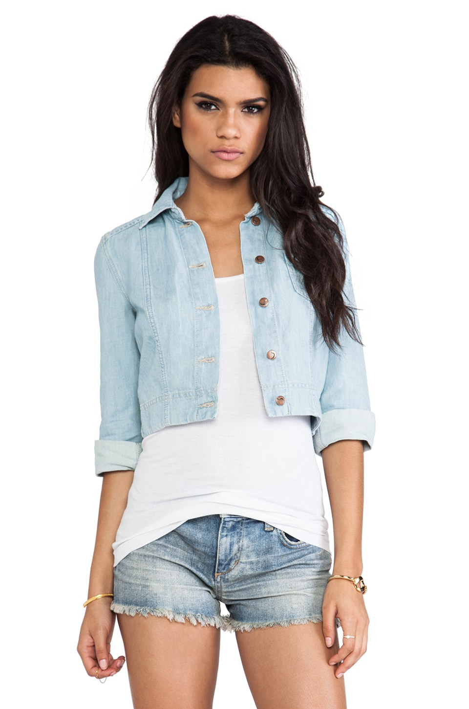 Joe's Jeans Denim Cardi in Venice