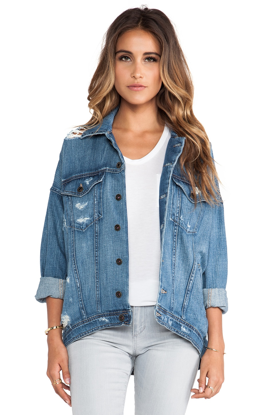 Joe's Jeans Oversized Dolman Jacket in Miyako